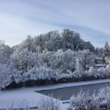 Freibad Winter