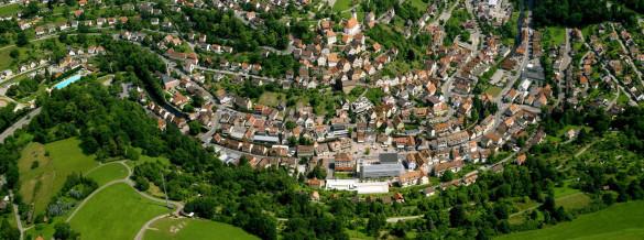 Luftaufnahme Altensteig